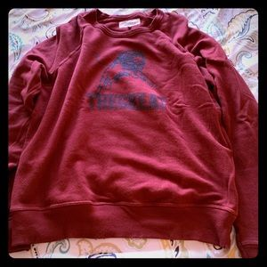 The Great College Sweatshirt  size 0/XS